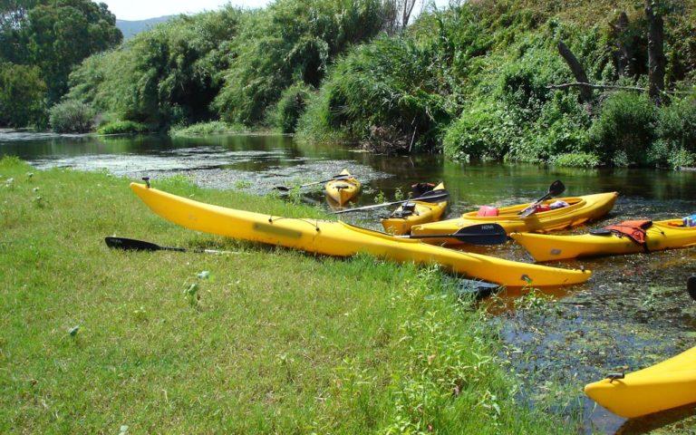sardegna escursioni in canoa